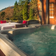 Suite 1 hot tub