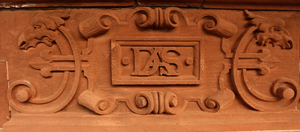 Lord Strathcona's initials