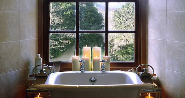 Luxurious bathing at Glencoe House