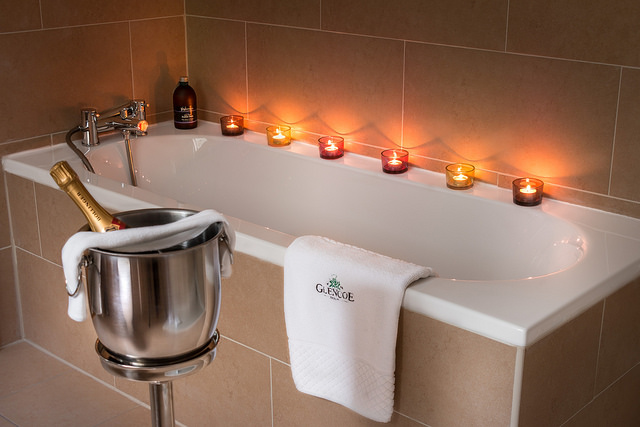 Enjoy a relaxing bath in your Bell Tower Suite