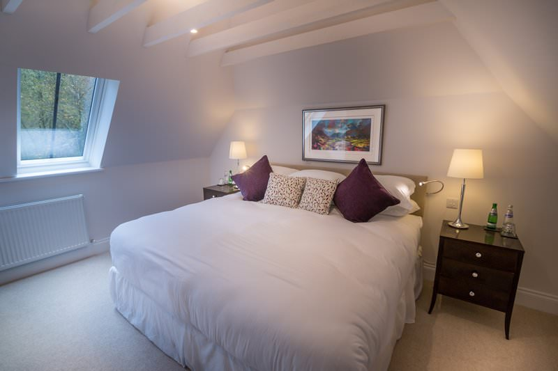 Bedroom in the Bell Tower Suite